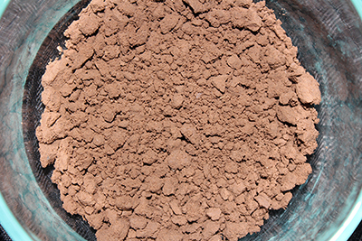Earthy Goodies clay started with this classic brown clay. Very earthy