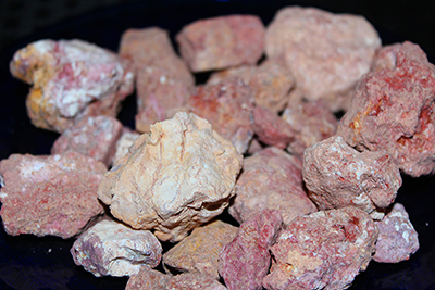 Famous pink kaolin clay from Earthy Goodies