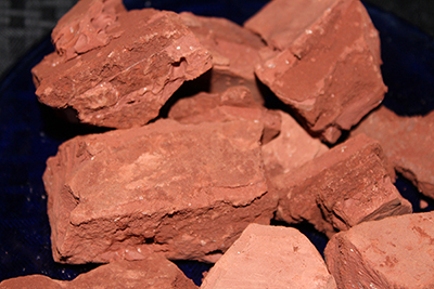 Super earthy red clay from Sedona. An Earthy Goodies favorite!